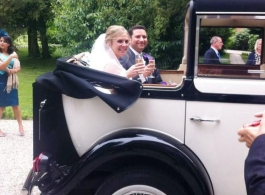 Regent wedding car for hire in Watford
